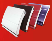 Insulated aluminium slats